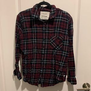 Garage - Flannel (Red, Black and White)